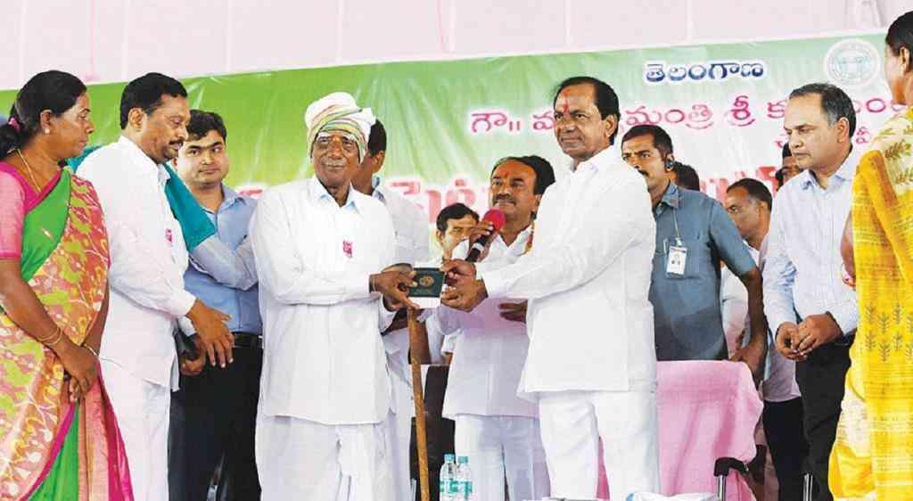 Telangana cm KCR Rythu Bandhu scheme 2019 loksabha election - Satya Hindi