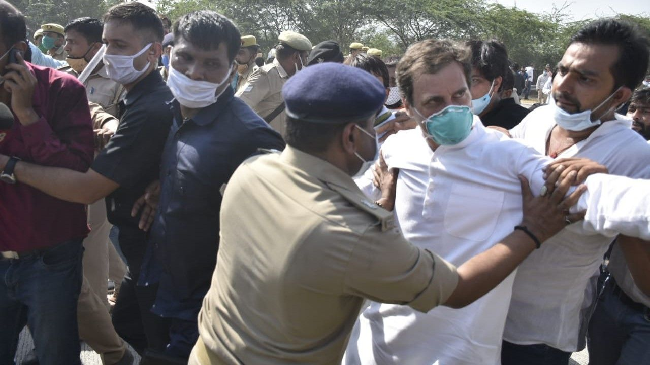 fir against chandrashekhar azad in hathras case, upper caste panchayat gets scot free - Satya Hindi