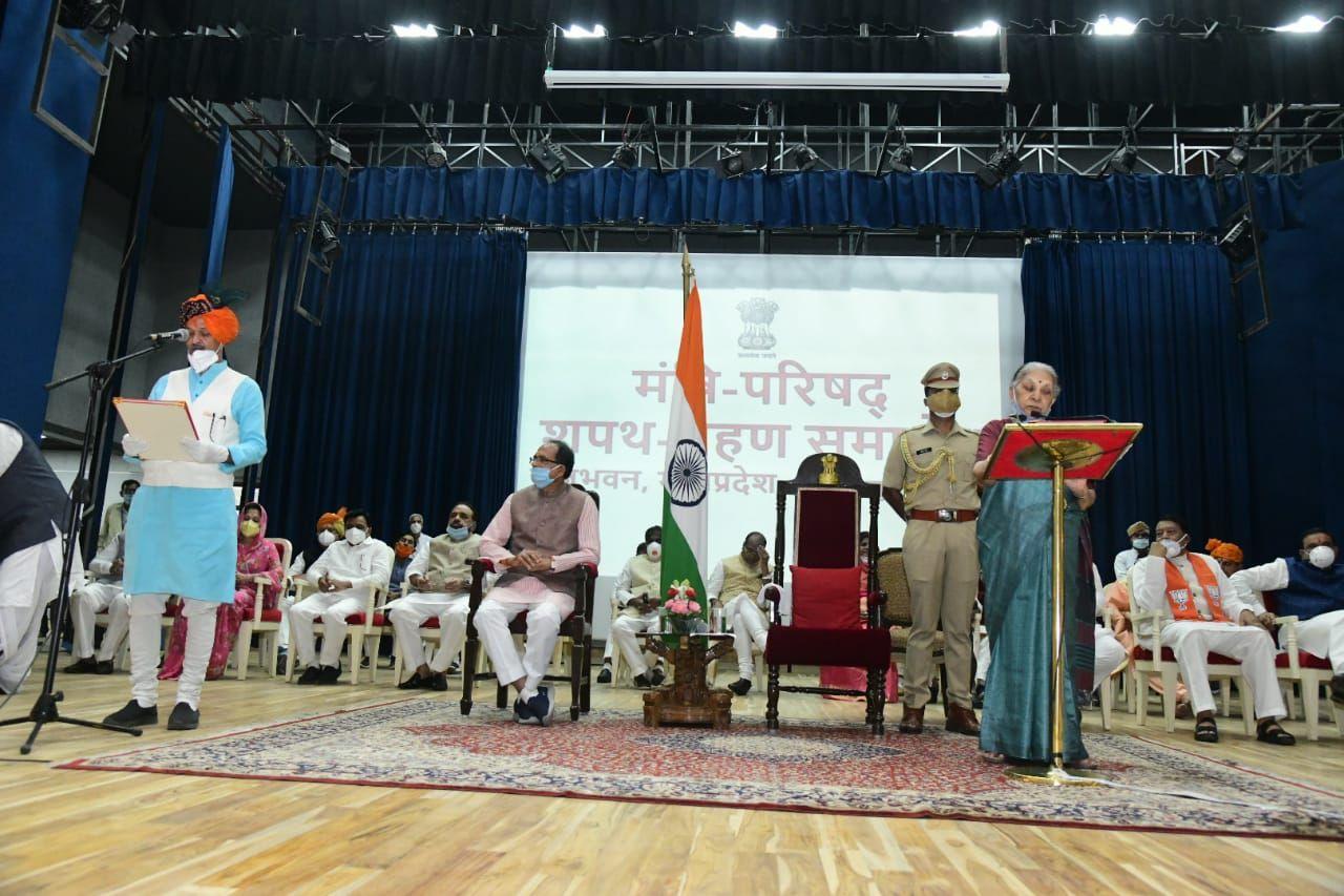 Shivraj Cabinet expansion in Madhya Pradesh Scindia loyals got more space - Satya Hindi