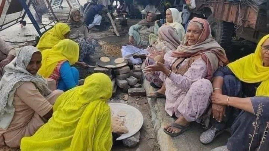 kisan andolan in Delhi against new agricultural laws 2020 - Satya Hindi