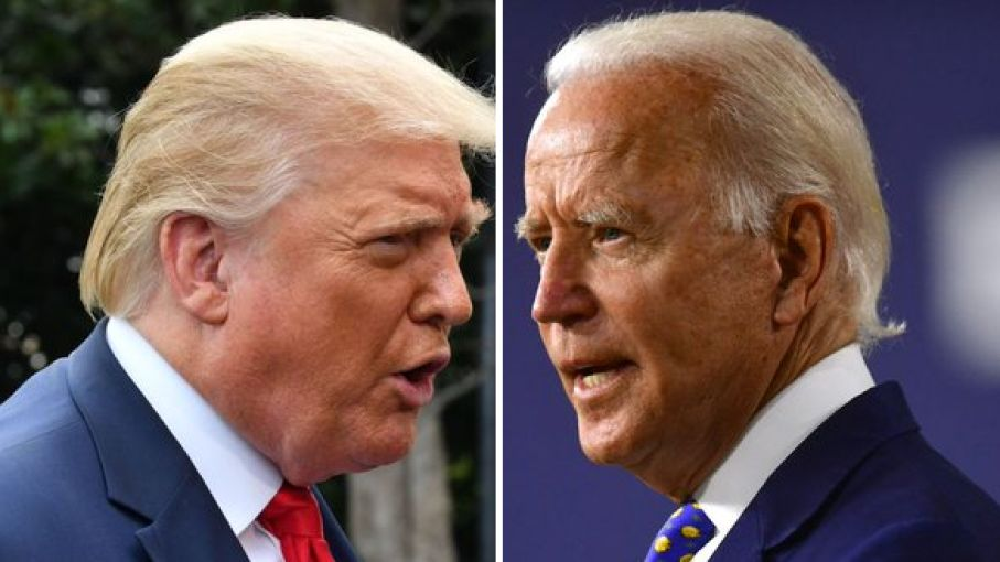 trump leads over biden in us election as vote counting progresses slow - Satya Hindi