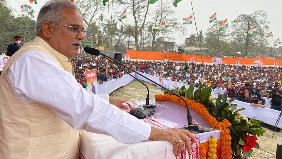 Bhupesh baghel stops all government projects in states - Satya Hindi
