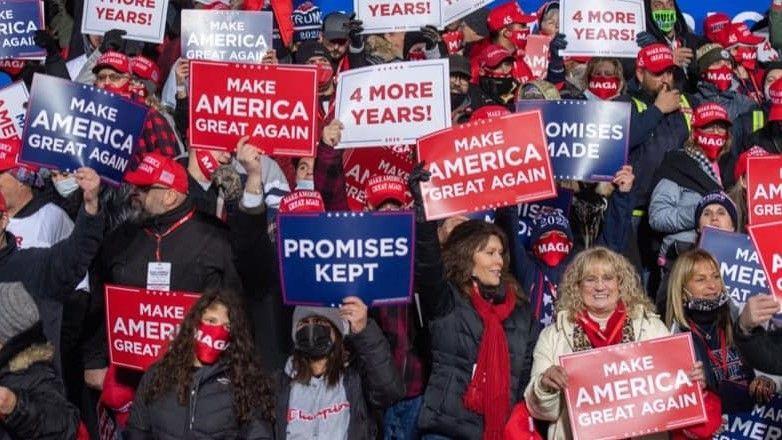 donald trump vs joe biden in US presidential election 2020 - Satya Hindi