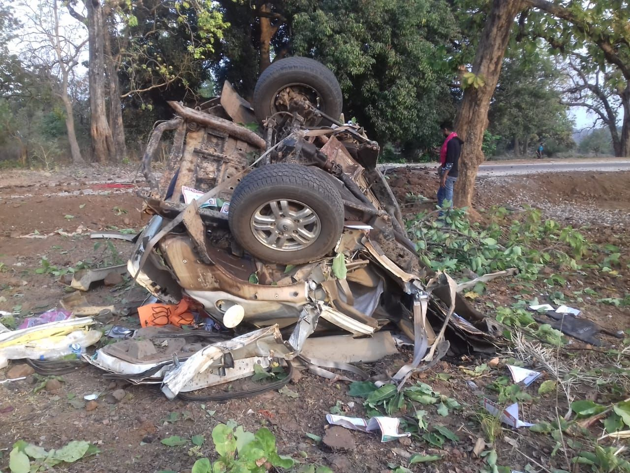 Maoist attack in Bastar, BJP MLA. 5 security personnel killed - Satya Hindi