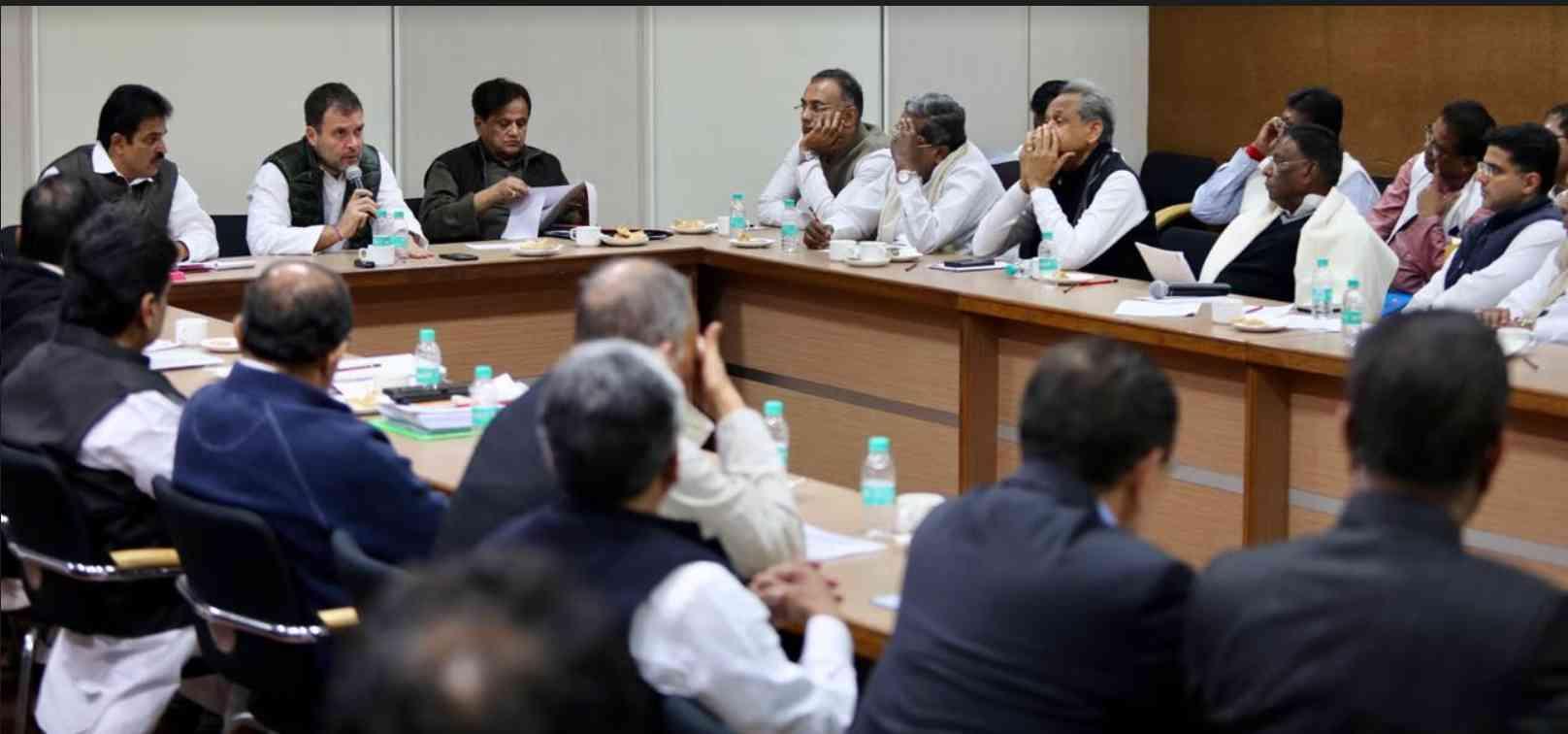 Rahul Gandhi ask Congress leaders to focus on Modi govt anti people policies - Satya Hindi