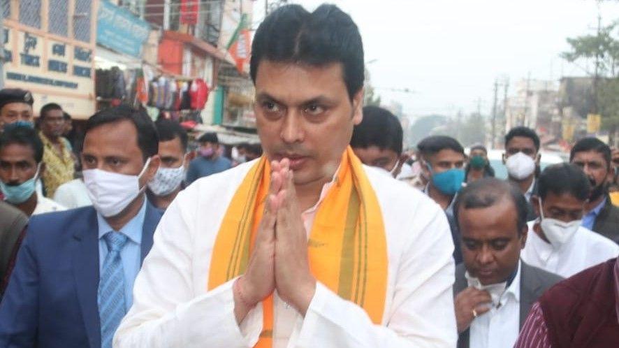 biplab deb tripura CM Called off Referendum  - Satya Hindi