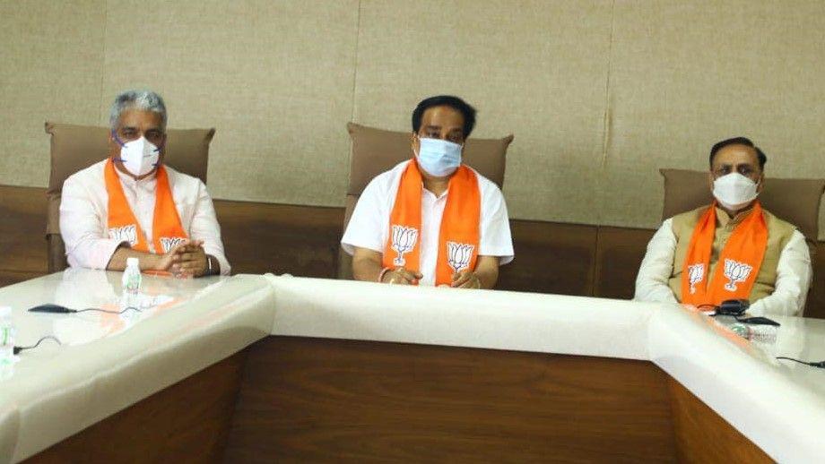 Vijay rupani CR patil clash in Gujarat BJP - Satya Hindi