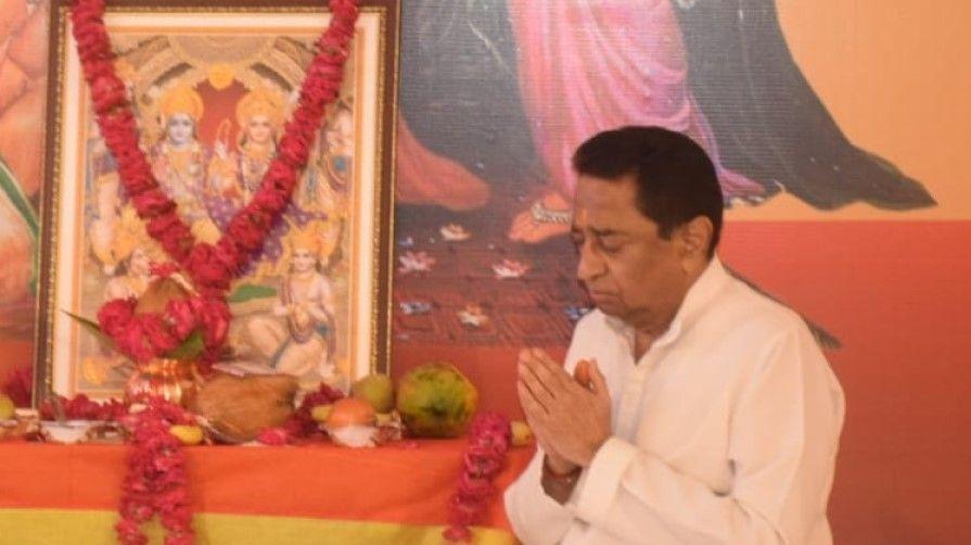 MP Bye election 2020 kamalnath on Soft hindutva path - Satya Hindi