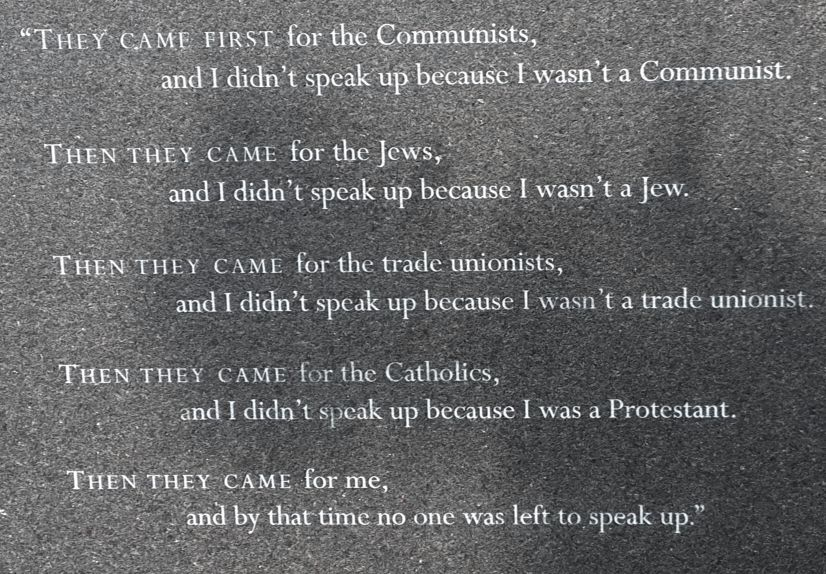 martin niemoller's 'first they came for socialists', and India - Satya Hindi