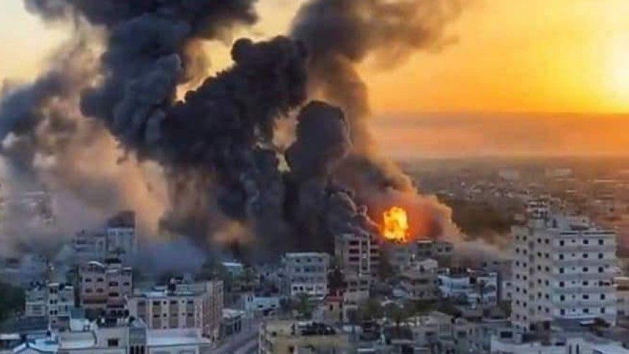 Israel palestine war 2021 escalate - Satya Hindi