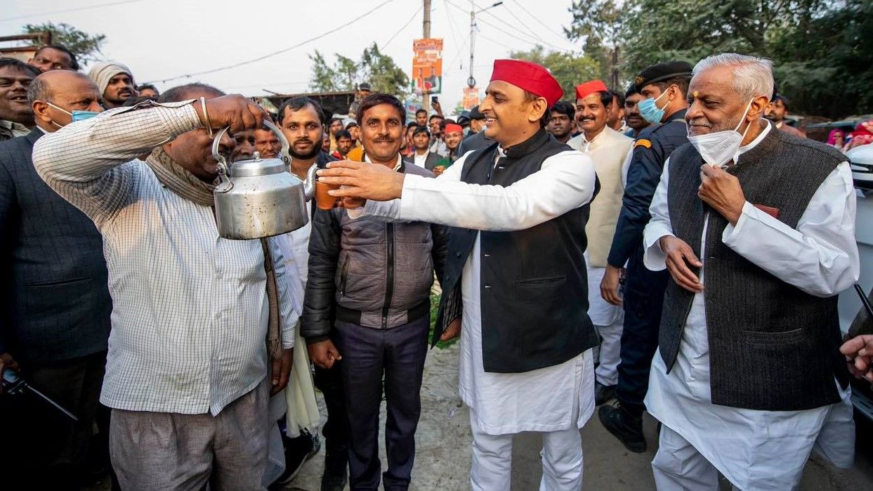 SP alliance in UP assembly election 2022 - Satya Hindi