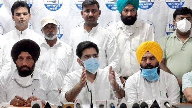 AAP Punjab CM candidate from Sikh community - Satya Hindi