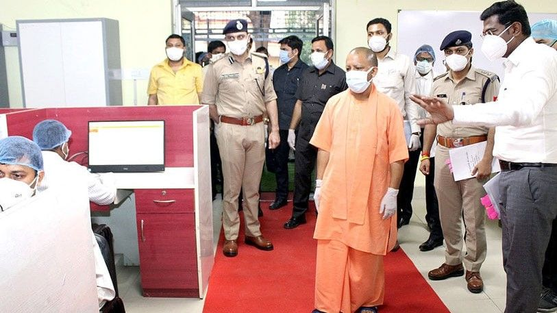 MLA rakesh rathore on corona situation in UP - Satya Hindi