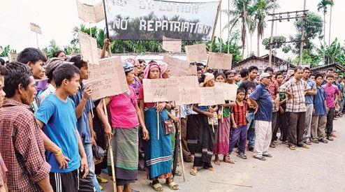 bru refugees in north east - Satya Hindi