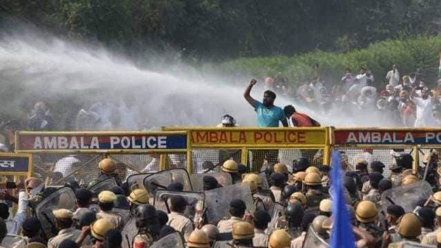 farmers protest in delhi against farm laws 2020 - Satya Hindi