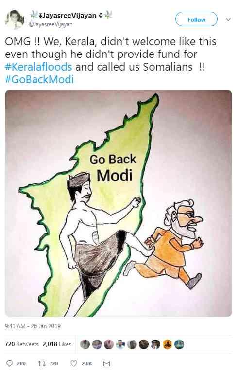 #GoBackModi #TNWelcomesModi pm modi tamilnadu Madurai - Satya Hindi