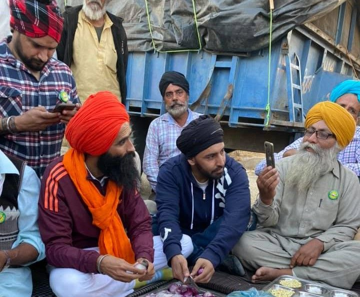kisan delhi chalo protest against farm laws 2020 - Satya Hindi